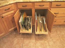 Kitchen Cabinet Interior Organizers by Kitchen Cabinet Pull Out Organizers Symmetrical Hardwood Flooring