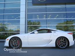 lexus lfa 0 60 used 2012 lexus lfa for sale in richmond bc openroad lexus richmond