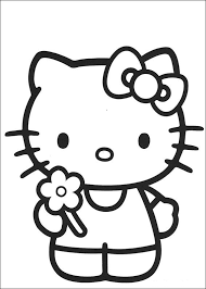 free kitty coloring pages coloring pages