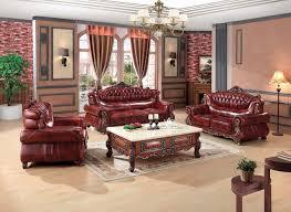canapé de luxe de luxe européenne canapé en cuir ensemble salon canapé chine cadre