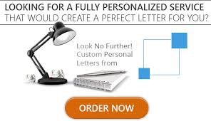 our personal statement letter services personal letter
