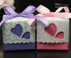 heart shaped candy boxes wholesale korean creative wedding supplies heart shaped hollow square candy