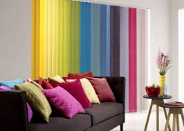 living room beautiful colorful living room curtain design