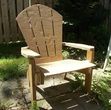 diy homademade cardboard adirondack chair muskoka chair youtube