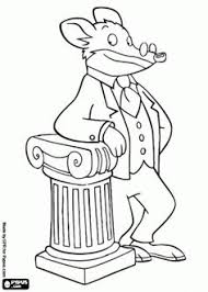 geronimo stilton coloring pages coloring pages geronimo