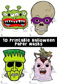 printable halloween masks woo jr kids activities