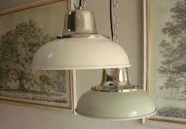 Fishermans Pendant Light Enamel Style Kitchen L Light Shade Fishermans Pendant Ebay