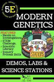 modern genetics demo labs and science stations genetics and