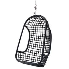 Rattan Hammock Chair Indoor Rattan Hanging Egg Chair In White Hanging Chairs Cuckooland