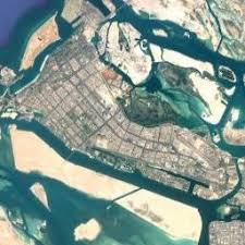 map of abu dabi abu dhabi map united arab emirates satellite maps