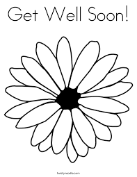 Free Get Well Coloring Pages Funycoloring Pages To Colour In