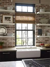 67 best kitchens with a brick wall images on pinterest