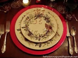 new year s table setting tablescape with lenox winter greetings china