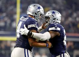 thanksgiving cowboys game prescott strong arm even running as cowboys win 10th in row