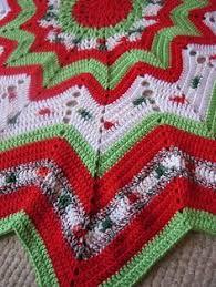 crochet tree skirt crazy crafters tutorials pinterest skirts
