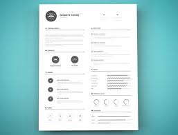 resume templates 2017 word doc resume template design free 40 best templates 2017 psd ai doc 5 15