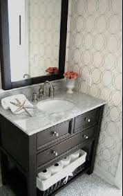 Cute Small Bathroom Ideas Colors Cute Small Bathroom Love The Circles Wallpaper Bathrooms I