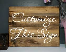 wood sign wall custom wood signs etsy