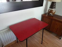 Vintage Retro S Atomic Red Formica Kitchen Table In - Formica kitchen table