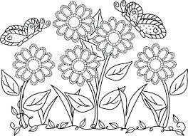 coloring pictures of flowers to print free coloring book pages flowers printable coloring coloring book