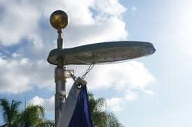 Flag Pole Lights Solar Powered Solar Powered Flagpole Light From Flags Unlimited Intended For
