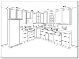 kitchen cabinet drawing kitchen cabinet layout planner home design inspirations