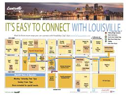 Louisville Map Getting Around Urban Bourbon Half Marathon Presented By Jim Beam