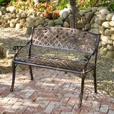 cheap outdoor aluminum bench find outdoor aluminum