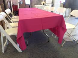 what size tablecloth for 8 foot table linen and tablecloth rentals bergen party rentals