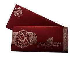 ganesha theme hindu wedding card in maroon color amb1542 youtube