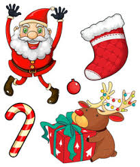 christmas theme game with red and green illustration royalty free
