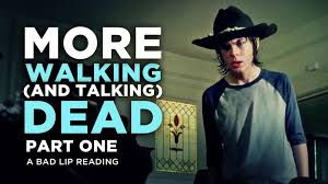 The Walking Dead T Dog Meme - more walking and talking dead part 1 a bad lip reading of the