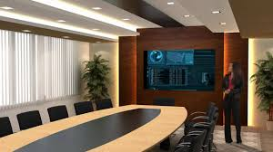 virtual reality set conference room youtube