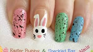 2014 bps nail art contest 10 easter bunny u0026 speckled egg nails by