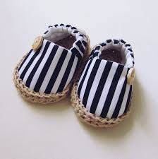 newborn and baby summer crib shoes baby stripes by pegorina