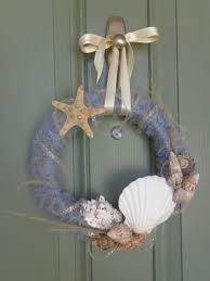 what a beach in u0027 wreath u2013 diy beach themed yarn wreath the