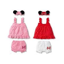 Minnie Mouse Costume 3 Pc Set Minnie Mouse Costume Bloomer C