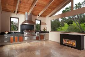kitchens best outdoor kitchen idea with stainless steel kitchen