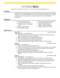 Server Resume Skills Examples Free by Sample Resume For Restaurant Server U2013 Topshoppingnetwork Com