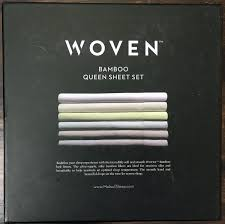 woven bamboo bed sheet review