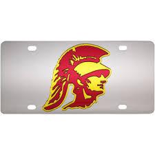 usc alumni license plate usc license plates usc trojans car tags usc alumni plate vanity