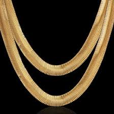 2015 men s jewelry 8mm 60cm new arrival discount classic gold necklace for men 2017 classic gold