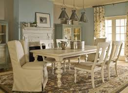 top white wooden dining table and chairs dining room white round