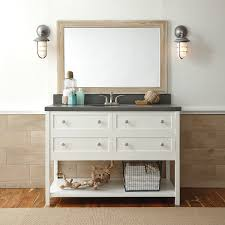mirrors white framed bathroom mirrors with brushed nickel vanity