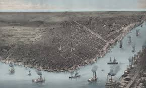 New Orlean Map by Historical Map Of New Orleans La 1885