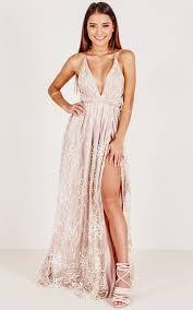 maxi dress new york nights maxi dress in gold showpo