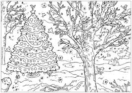 free christmas coloring pages adults children books
