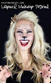 easy kitty cat or leopard makeup tutorial twist me pretty
