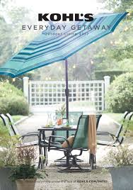 Kohls Patio Chairs by Kohls Weekly Ad Flyer U0026 Circular