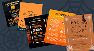 7 spooky halloween flyer templates venngage